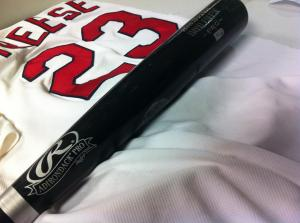 Freese' jersey and bat were seized by the Hall of Fame