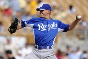 Mike Montgomery #65 of the Kansas City Royals