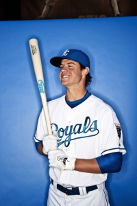 Portrait of Kansas City Royals prospect Wil Myers