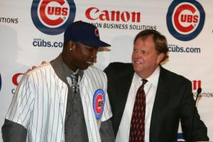 Chicago Cubs Press Conference for Alfonso Soriano