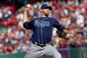 Tampa Bay Rays pitcher Wade Davis