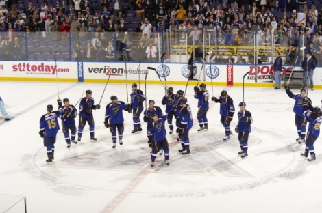 St. Louis Blues vs Vancouver Canucks