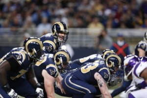 Minnesota Vikings v St. Louis Rams