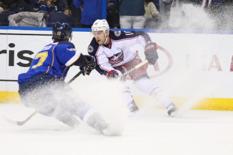 Columbus Blue Jackets v St. Louis Blues